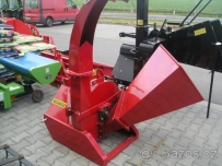 Wood shredders for tractors