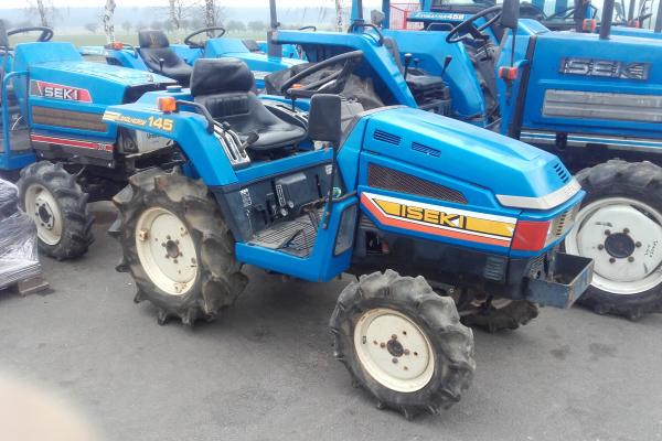 Malotraktor Iseki TU145 - Click to view the picture detail.